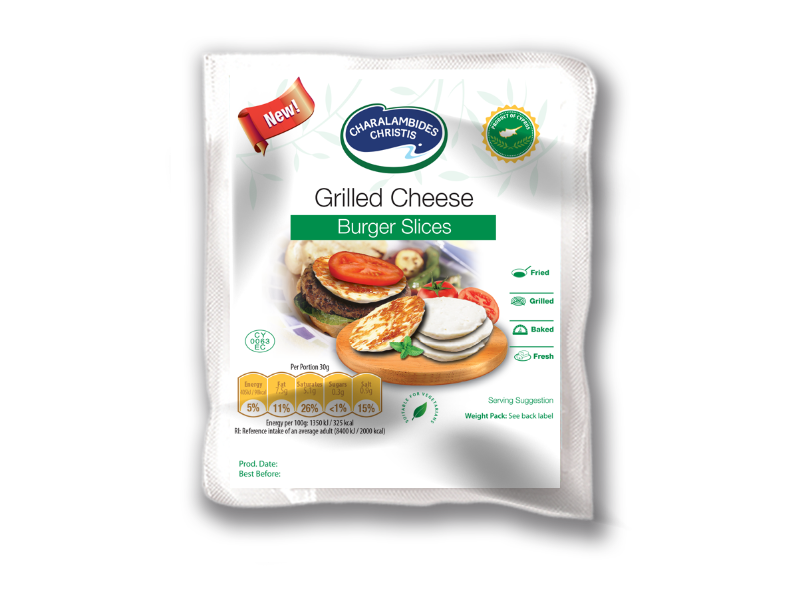 View details of Grilled Cheese Burger Slices